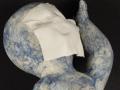 Weißer Ton - Engoben, Porzellan - Detail